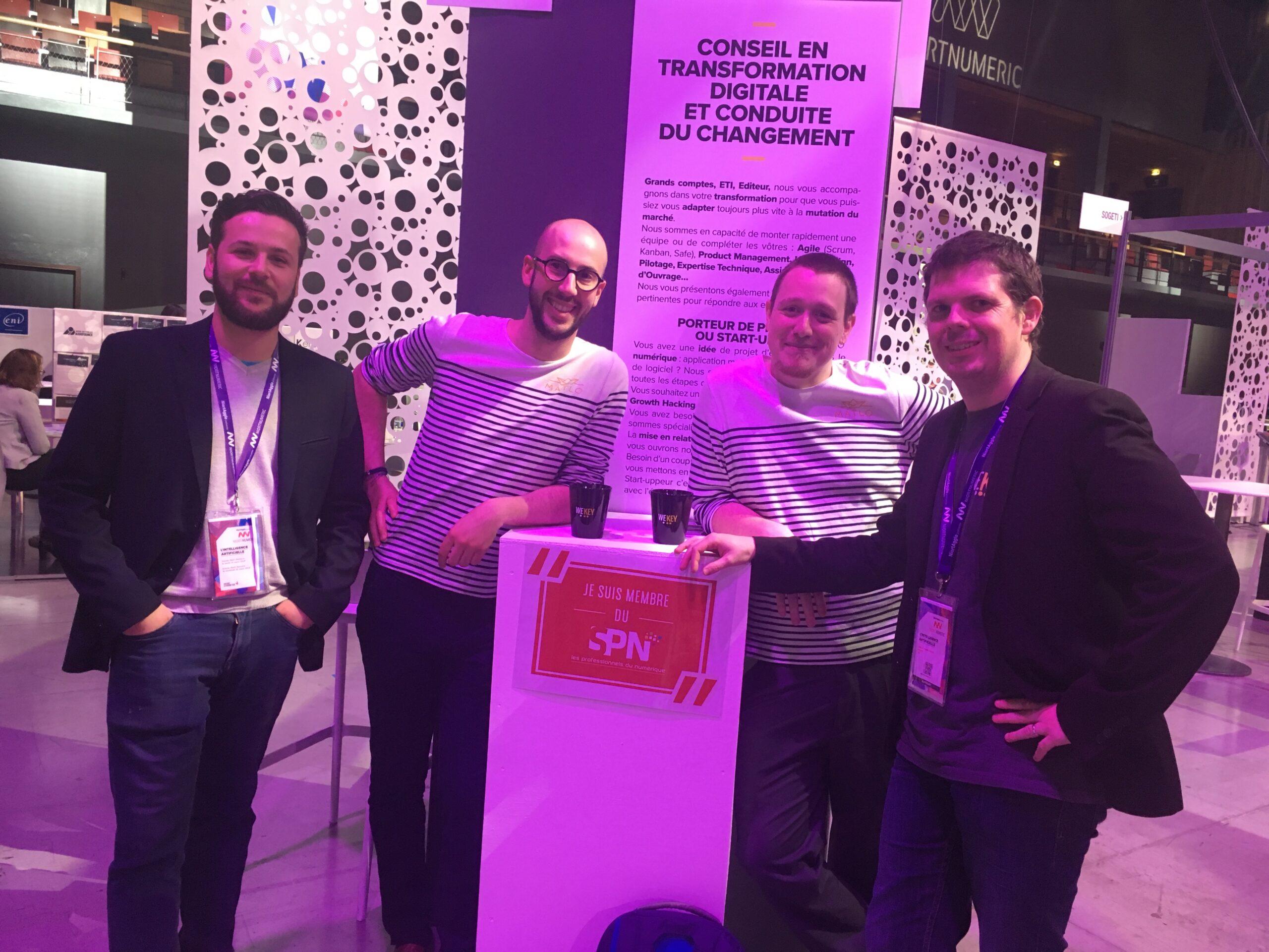 Une belle édition Niort Numeric pour Wekey : 3 start-up à l'honneur & un challenge Javascript réussi !