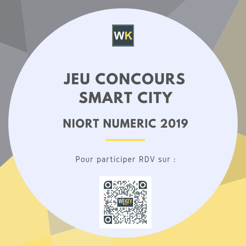 Jeu Concours Smart City – Niort Numeric 2019