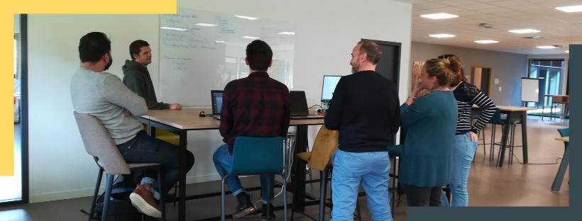 Design sprint chez Wekey avec Etienne Pouvreau