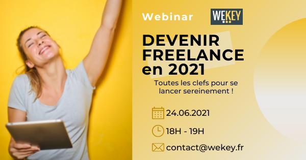 Webinar - devenir freelance en 2021